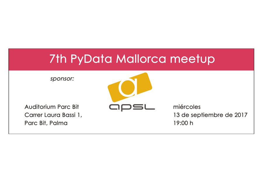 7 th PyData Mallorca