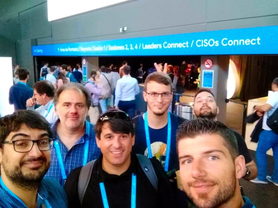 Visita al Google Cloud Summit '19