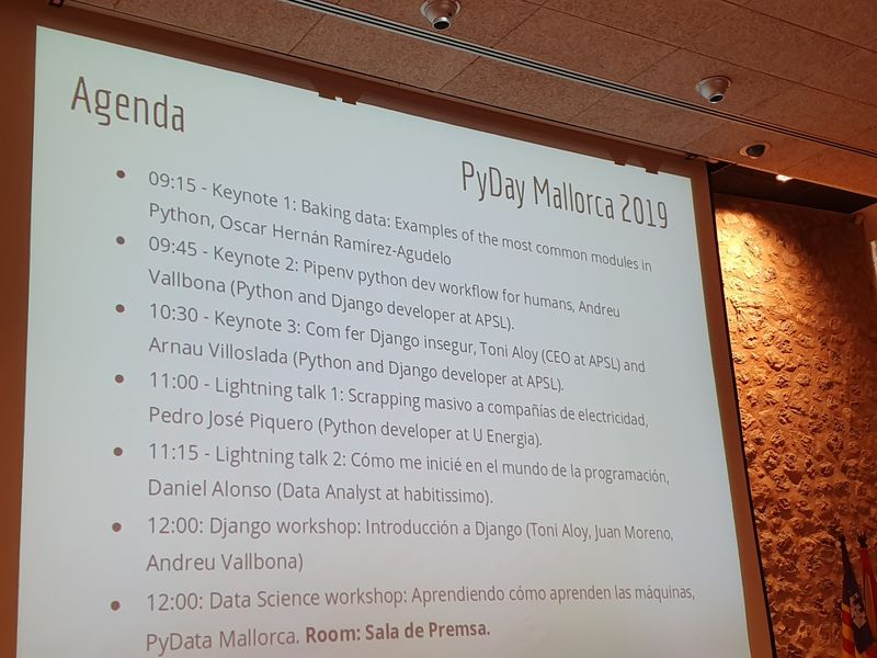 PyDay Mallorca 2019